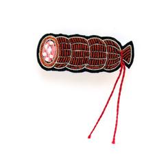 MACON & LESQUOY SMALL SAUSAGE PIN