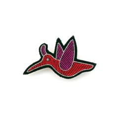 MACON & LESQUOY SMALL HUMMINGBIRD PIN