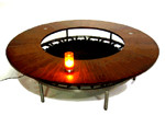 TRAMPOLINE COFFEE TABLE design by Alberto Bonomi
