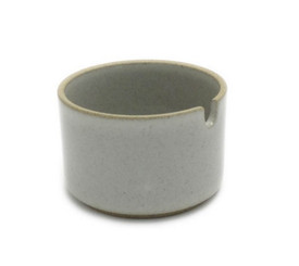 Hasami Porcelain Sugar Pot Gloss Grey 3.1/3 x 2.1/8 (HPM017)