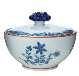 RÖRSTRAND OSTINDIA SUGAR BOWL WITH LID 12OZ (1012340)