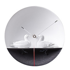 Waterbird X CLOCK - Mandarin Duck by Haoshi Design