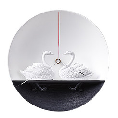 Waterbird X CLOCK - Swan 01 by Haoshi Design