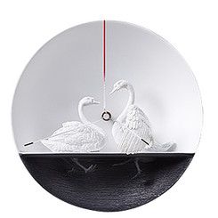Waterbird X CLOCK - Swan 02 by Haoshi Design