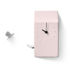 Cuckoo X CLOCK - Home(Pink) by Haoshi Design
