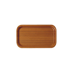 SAITO WOOD AYOUS RECTANGLE TRAY