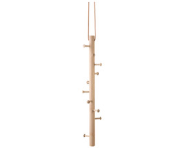 Copenhanger - Floating Coat Hanger White-washed Oak