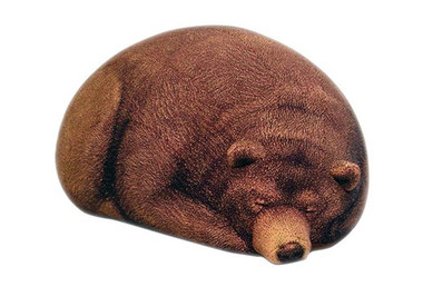 Big Sleeping Grizzly Bear Beanbag - Free shipping world-wide