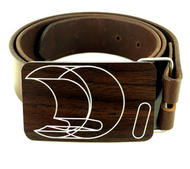BELT BUCKLE (WOOD GRAIN) by Handmade in Texas