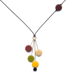 Autumn Multi Drop Pendant by I. Ronni Kappos (IRK Jewelry)