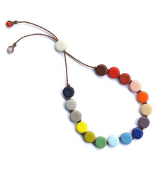 SMALL MULTI-COLORED TABLET BRACELET by I. Ronni Kappos (IRK Jewelry)