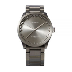 LEFF AMSTERDAM tube watch S38 – steel 38mm