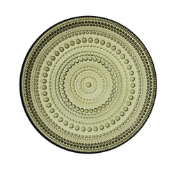 "(Set of 2) Iittala Kastehelmi Plate Moss Green 6.75"" x .75"""