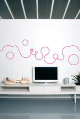 DOMESTIC WALL STICKER– BUBBLE LINE design by MATALI CRASSET