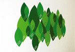 Domestic Wall Sticker Plant Patch design by Marti Guixe