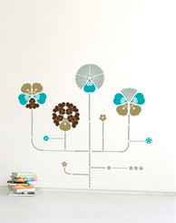 DOMESTIC WALL STICKER HYBRID GOLD design by ANTOINE + MANUEL