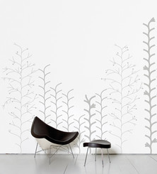 DOMESTIC WALL STICKER- GRAPHIC PLANT design by Ich Kar