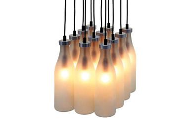 Droog milk bottle lamp design by tejo remy greenergrassdesign image 1 aloadofball Choice Image
