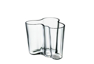 "Iittala Alvar Aalto Collection Vase (3.75""), Clear"