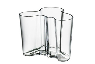 "Iittala Alvar Aalto Collection Vase (6.25""), Clear"