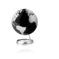 Atmosphere Full Circle Vision Globe (Black) design by Tecnodidattica