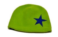 Fleece Hat - Green Star