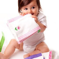 Bundle of Sale Burp Cloths - Girl