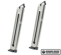 Ruger Mark III and IV Magazine 10-Round 22-LR Value 2-Pack 90645 OEM