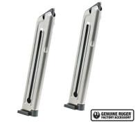 Ruger Mark III and IV Magazine 10-Round 22-LR Value 2-Pack 90645 OEM