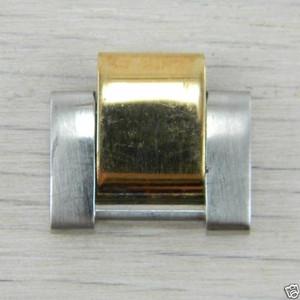 Rolex 14K Yellow Gold and Steel Mens Men Metal 14mm Watch Link