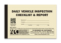 APC 106119: Daily Vehicle Inspection Checklist & Report