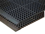 "T12S3939BR - 39"" x 39"" Grease-Resistant Mat, Heavy-Duty"