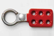 """414061 - 1"""" Hasp - Non-Sparking Aluminum w/red coating"""