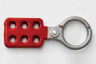 """414062 - 1.5"""" Hasp - Non-Sparking Aluminum w/red coating"""