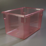 "10624C - 18"" x 26"" x 15"" Polycarbonate Food Storage Box"