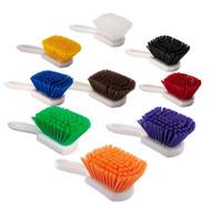 """142005E - 8"""" Utility Brush - Epoxy Set in Colors"""
