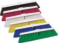 """110041 - 18"""" Color-coded Floor Brush - Stiff"""