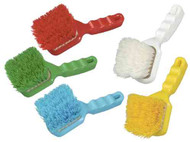 """142024E - 10"""" Short Handled Hand Brush, Resin Set, Soft"""