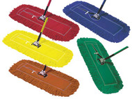 "620021 - 48"" Premium Dust Mop - Color Coded (Box of 6)"