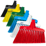 2916 - Flagged Angle Cut Upright Broom - European Thread