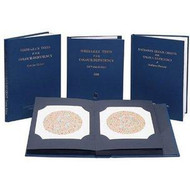 Ishihara Test Chart Books for Color Deficiency 38 PLATE