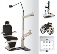 PT-1000 Ophthalmic Exam Lane Package
