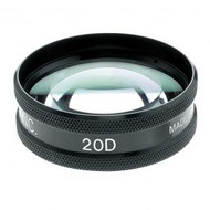 Ocular Maxlight 20 Diopter Lens With Case. New!