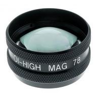 Ocular Maxlight High Mag 78D Lens with case. New!