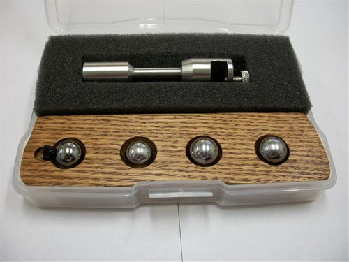 High quality precision Keratometer calibration set made in the USA. This is the most accurate set available.