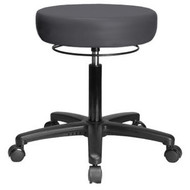 Exam Stool With 360 Degree Adjustment Ring
