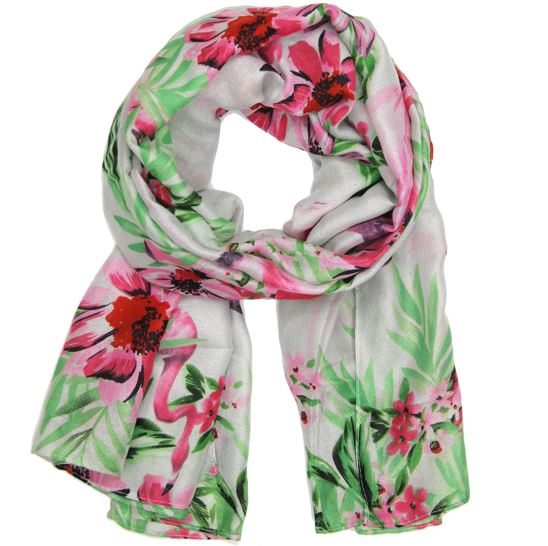 Tropical Flamingo scarf