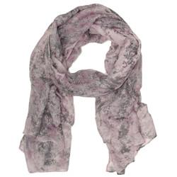 Splatter Print Pink Scarf by Bucasi