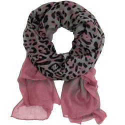 Animal Print Ombre Scarf