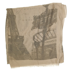 Paris Eiffel Tower Scarf Print